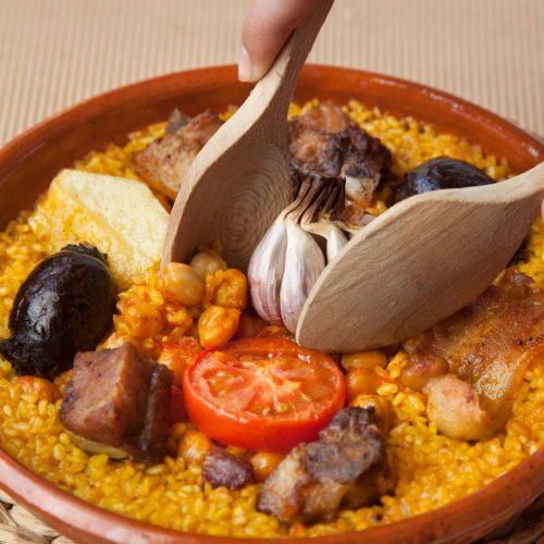 restaurante para reuniones de empresa en valencia - arroz al horno
