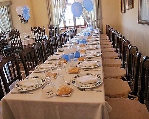 restaurante para bautizos en valencia - mesa niños