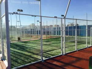 padel en Valencia - pared