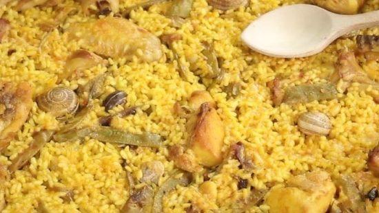 restaurante para comuniones en valencia - paella valenciana