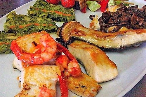 restaurante para bautizos en valencia - pescados