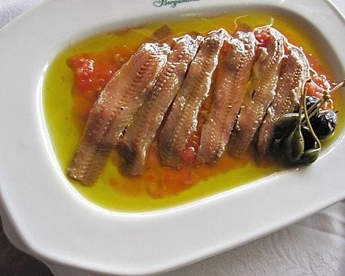 restaurante para reuniones de empresa en valencia - anchoas