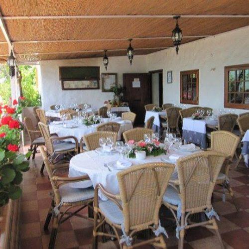 restaurante para reuniones de empresa en valencia - terraza