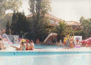 restaurante con piscina en Valencia - actividades