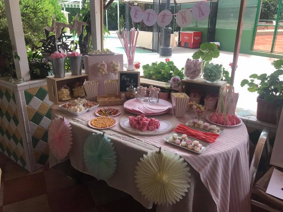 restaurante para comuniones en valencia - mesa chuches