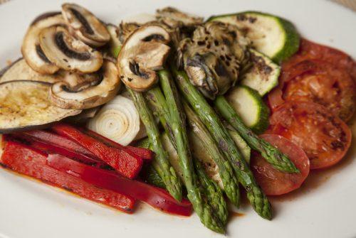 restaurante para celebrar una boda civil en valencia - verduras