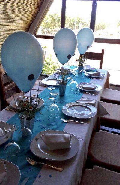 restaurante para comuniones - mesa infantil