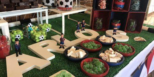 restaurante para comuniones en valencia - mesa dulces
