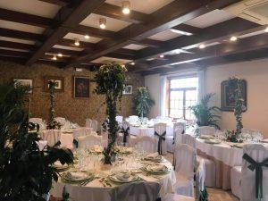 restaurante para celebrar una boda civil en Valencia - comedor