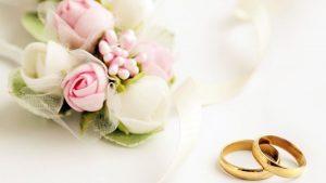 restaurante para bodas en Valencia - flores y anillos