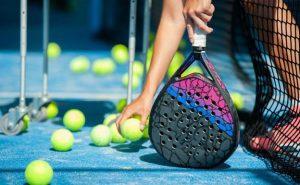 club de padel en Valencia - raquetas